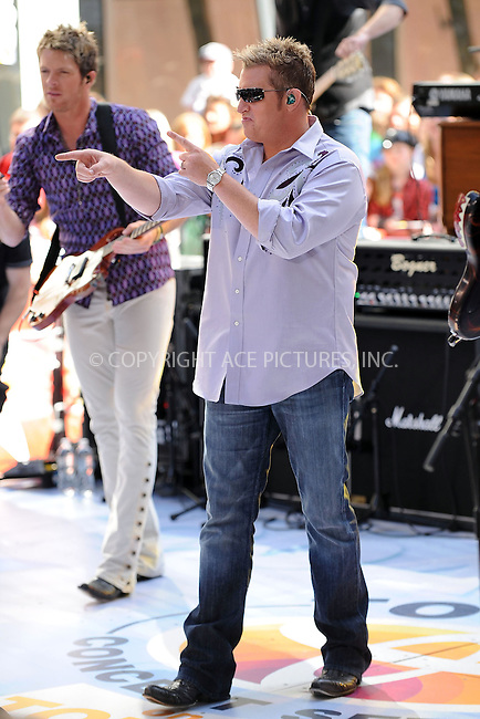WWW.ACEPIXS.COM . . . . . ....July 10 2009, New York city....Rock band Rascal Flats performed on NBC's 'Today' Show at the Rocketfeller Plaza on July 10 2009 in New York City....Please byline: KRISTIN CALLAHAN - ACEPIXS.COM.. . . . . . ..Ace Pictures, Inc:  ..tel: (212) 243 8787 or (646) 769 0430..e-mail: info@acepixs.com..web: http://www.acepixs.com