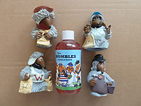 BNPS.co.uk (01202 558833)<br /> Pic: GillSeyfang/BNPS<br /> <br /> Womble bubble bath from the 90's.<br /> <br /> An environmentalist is selling the world's biggest Womble collection after the famous furry creatures inspired her to save the planet as a child.<br /> <br /> Gill Seyfang, a senior lecturer in Sustainable Consumption at the University of East Anglia, owns over 1,700 items relating the furry creatures.<br /> <br /> Her vast collection ranges from soft toys to rubbish bins and was recognised by the Guinness Book of Records in 2016.<br /> <br /> Ms Seyfang, from Norwich, Norfolk, began amassing the group in the 1970s and it has continued to grow ever since.