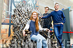 The Iron Throne from Game of Thrones was in Tralee IT for freshers Week on Wednesday.