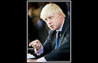 Boris Johnson MP - Conservative Party Conference - Birmingham International Convention Centre - 29th September 2008