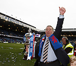 Ally McCoist with the SFL Division 3 trophy