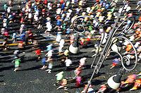 La partenza della Maratona di Roma, 18 marzo 2012..The start of the Marathon of Rome, 18 march 2012..UPDATE IMAGES PRESS/Riccardo De Luca