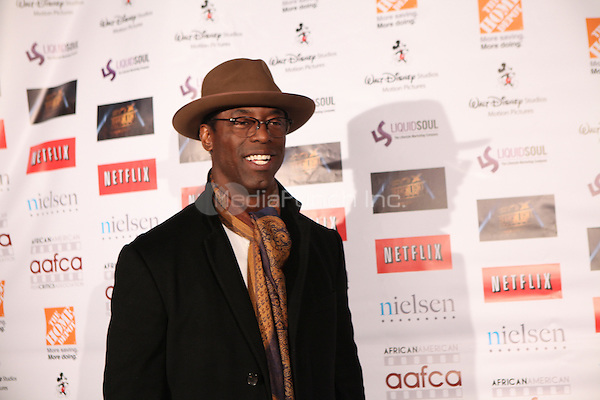 LOS ANGELES, CALIFORNIA - JANUARY 31: Isaish Washington at the African American Film Critics Association 5th Annual Awards Dinner on Friday Jan 31st, 2014  at the Taglyan Cultural Complex in Los Angeles, California. Photo Credit: RTNjohnson/MediaPunch.