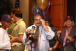 John Paraskevas, seen at the retirement Celebration for Tony Marro held at Melville Office of Newsday on Tuesday, August 12, 2003. (Photo / Jim Peppler).