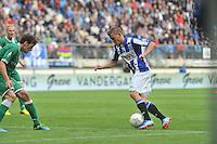 VOETBAL: HEERENVEEN: 15-09-2013,  Abe Lenstra Stadion, SC Heerenveen-FC Groningen, Alfreð Finnbogason, ©foto Martin de Jong