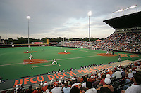 Texas UFCU Disch-Falk Field. Texas Longhorns against the Texas A&M Aggies on May 16th, 2008 in Austin Texas. Photo by Andrew Woolley / Four Seam Images..
