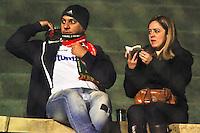 SÃO PAULO,SP,29 AGOSTO 2012 - CAMPEONATO BRASILEIRO - PORTUGUESA x PALMEIRAS - Torcedores da Portuguesa  durante partida  Portuguesa x Palmeiras  válido pela 20º rodada do Campeonato Brasileiro no Estádio Doutor Osvaldo Teixeira Duarte (Canindé), na região norte da capital paulista na noite desta quarta feira  (29). (FOTO: ALE VIANNA -BRAZIL PHOTO PRESS).