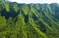 Koolau Mountains, windward Oahu, Pali