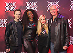 "Dane Biren, Jeannette Bayardelle, Tiffany Engen and Tom Galantich during the tech rehearsal for ""Rock of Ages"" 10th Anniversary Production on June 13, 2019 at the New World Stages in New York City."