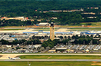 Charlotte-Douglas International Airport new 9,000-foot runway. It will be the fourth runway at the airport and the third parallel runway, providing the hub with more capacity to handle aircraft approaching at the same time. The fourth runway will increase the number of planes that can land and take off at the airport by 33 percent.
