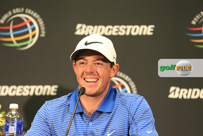 Rory MCILROY (NIR) during Tuesday's Practice Day of the WGC Bridgestone Invitational, held at the Firestone Country Club, Akron, Ohio.: Picture Eoin Clarke, www.golffile.ie: 29th July 2014