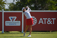 Georgia Hall (ENG) watches her tee shot on 12 during the round 3 of the Volunteers of America Texas Classic, the Old American Golf Club, The Colony, Texas, USA. 10/5/2019.<br /> Picture: Golffile   Ken Murray<br /> <br /> <br /> All photo usage must carry mandatory copyright credit (© Golffile   Ken Murray)