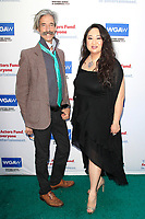 LOS ANGELES - JUN 11: Bonnie Tseng, Johnny White at The Actors Fund's 22nd Annual Tony Awards Viewing Party at the Skirball Cultural Center on June 10, 2018 in Los Angeles, CA
