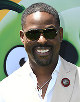 """10 August 2019 - Westwood, California - Sterling K. Brown. Sony's """"The Angry Birds Movie 2"""" Los Angeles Premiere held at Regency Village Theater.   <br /> CAP/ADM/BT<br /> ©BT/ADM/Capital Pictures"""