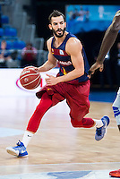 FC Barcelona Lassa's player Pau Ribas during the match of the semifinals of Supercopa of La Liga Endesa Madrid. September 23, Spain. 2016. (ALTERPHOTOS/BorjaB.Hojas)