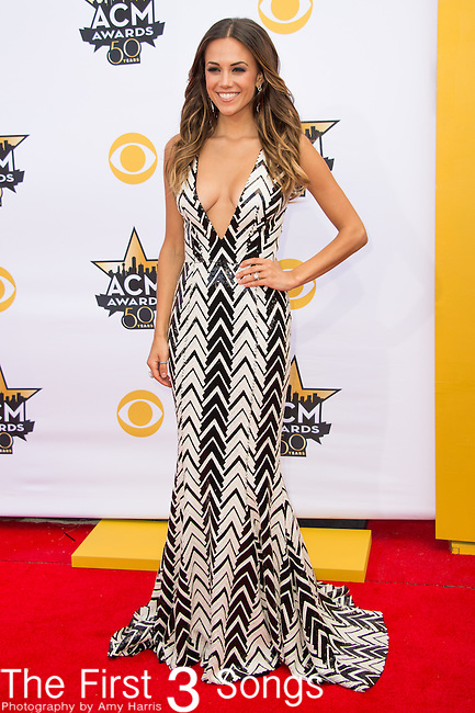 Jana Kramer attends the 50th Academy Of Country Music Awards at AT&T Stadium on April 19, 2015 in Arlington, Texas.