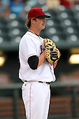 Great Lakes Loons Josh Wall during a game vs. the Dayton Dragons at Dow Diamond in Midland, Michigan August 19, 2010.   Great Lakes defeated Dayton 1-0.  Photo By Mike Janes/Four Seam Images