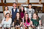 Natasha McAuliffe from Castleisland celebrating her 17th birthday with friends at La Scala's  on Saturday night.Front l-r Leah Skelly, Saoirse Hussey, Natasha McAuliffe and Grainne Cremins.Back l-r Kathleen O'Sullivan, Darragh McGinley, Holly Tuohy and Daniel Chung