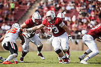 Stanford, CA - November 5, 2016: Johnny Caspers_ and Jesse Burkett during  the Stanford vs Oregon State game at Stanford Stadium Saturday. <br /> <br /> Stanford won 26-15.