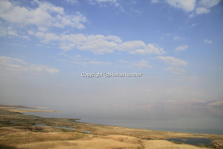 Israel, sinkholes by the Dead Sea