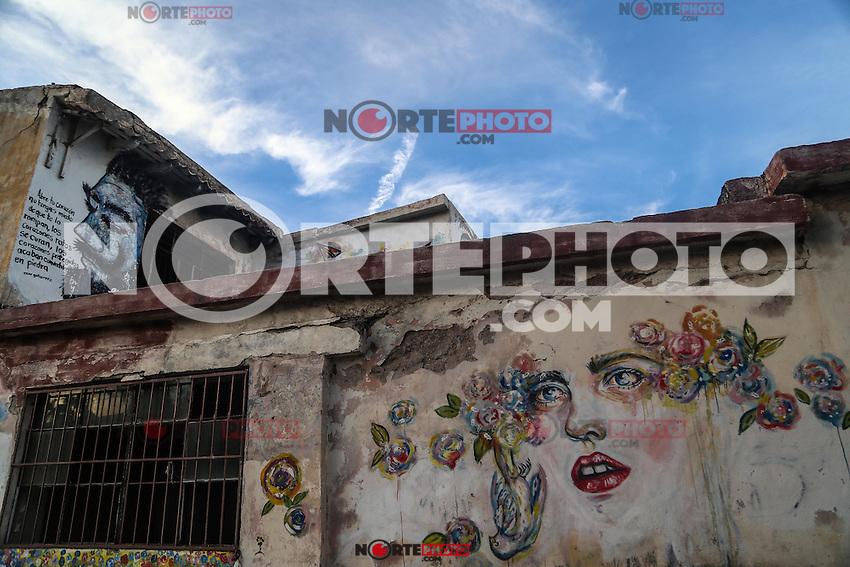 Rostro<br /> ...<br /> Murales y pinturas de la calle No reeleccion en la colonia Centro de Hermosillo.