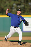 August 9 2009: Michael Kenney of the Rancho Cucamonga Quakes during game against the San Jose Giants at The Epicenter in Rancho Cucamonga,CA.  Photo by Larry Goren/Four Seam Images