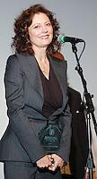 PHILADELPHIA - APRIL 5:  Academy Award Winning Actress Susan Sarandon accepts the 2006 Artistic Achievement Award onstage during the 2006 Philadelphia Film Festival April 5, 2006 in Philadelphia, Pennsylvania. The festival runs through April 11, 2006. (Photo by William Thomas Cain/Getty Images)