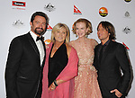 LOS ANGELES, CA - JANUARY 12: Hugh Jackman, Deborra-Lee Furness, Nicole Kidman and Keith Urban attend the 2013 G'Day USA Black Tie Gala at JW Marriott Los Angeles at L.A. LIVE on January 12, 2013 in Los Angeles, California.