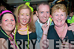 80's Disco: attending the 80's Disco held at The Mermaids Nightclub in Listowel on Friday night last were Karen Kelliher, Sharon Dalton, Mike O'Donoghue and Kathleen Kelliher all from Listowel.