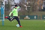 14.01.2018, Trainingsgelaende, Bremen, GER, 1.FBL, Training SV Werder Bremen<br /> <br /> im Bild<br /> Johannes Eggestein (Werder Bremen #24), <br /> <br /> Foto &copy; nordphoto / Ewert