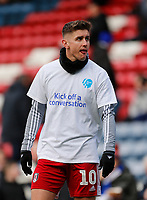 8th February 2020; Ewood Park, Blackburn, Lancashire, England; English Football League Championship Football, Blackburn Rovers versus Fulham; Tom Cairney of Fulham warms up before today's game