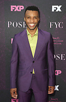 """WEST HOLLYWOOD, CA - AUGUST 9: Dyllón Burnside, at Red Carpet Event For FX's """"Pose"""" at Pacific Design Center in West Hollywood, California on August 9, 2019. <br /> CAP/MPIFS<br /> ©MPIFS/Capital Pictures"""