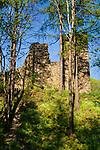 Ruiny średniowiecznego zamku na Lanckorońskiej Górze, Lanckorona, Polska<br /> The ruins of a medieval castle on Lanckorońska Mount, Lanckorona, Poland