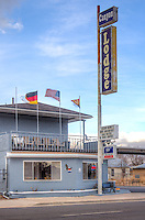 The Canyon Lodge on Route 66 in Seligman Arizona.