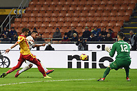 Dalbert of Internazionale scores for his side <br /> Milano 13-1-2019 Stadio Giuseppe Meazza <br /> Football Italy Cup 2018/2019 Inter - Benevento 6-2 <br /> Foto Image Sport  / Insidefoto
