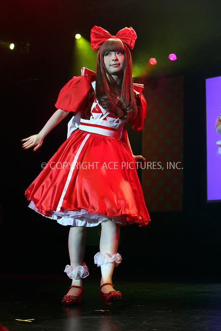 WWW.ACEPIXS.COM....April 14 2013, New York City....Kyary Pamyu Pamyu performed as part of her 100% KPP world tour 2013 at the Best Buy Theatre on April 142013 in New York City ....By Line: Nancy Rivera/ACE Pictures......ACE Pictures, Inc...tel: 646 769 0430..Email: info@acepixs.com..www.acepixs.com