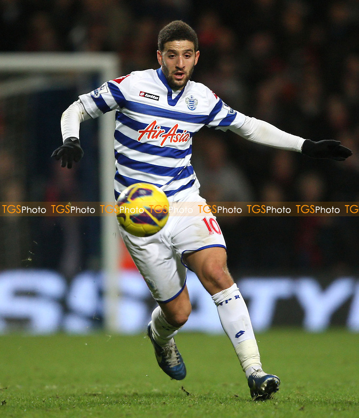 Adel Taarabt of QPR - Queens Park Rangers vs Liverpool, Barclays Premier League at Loftus Road, London - 30/12/12 - MANDATORY CREDIT: Rob Newell/TGSPHOTO - Self billing applies where appropriate - 0845 094 6026 - contact@tgsphoto.co.uk - NO UNPAID USE.