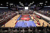26 February 2006: The Maples Pavilion facility during the Pac-10 Wrestling Championships at Maples Pavilion in Stanford, CA.