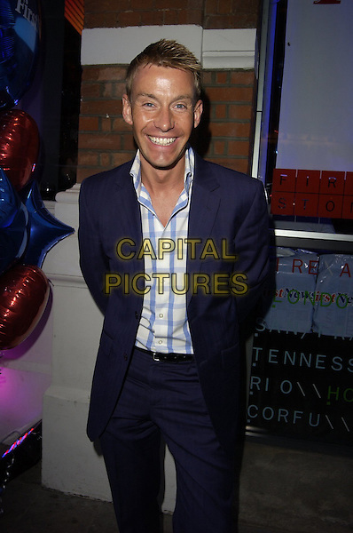 DR. DAVID BULL.First News - launch party at Fire & Stone, Covent Garden, London, UK..May 4th, 2006.Ref: CAN.half length blue suit jacket.www.capitalpictures.com.sales@capitalpictures.com.©Capital Pictures