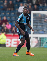 Aaron Pierre of Wycombe Wanderers during the Sky Bet League 2 match between Wycombe Wanderers and Northampton Town at Adams Park, High Wycombe, England on 3 October 2015. Photo by Andy Rowland.