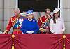 QUEEN, KATE, PRINCE CHARLES AND PRINCE WILLIAM<br /> appear on the balcony of Buckingham Palace to watch the Royal Air Force Flypast as part of the Trooping of the Colour, London_15th June 2013<br /> The annual event marks the Queen's Official Birthday.<br /> Photo Credit: &copy;Dias/NEWSPIX INTERNATIONAL<br /> <br /> **ALL FEES PAYABLE TO: &quot;NEWSPIX INTERNATIONAL&quot;**<br /> <br /> PHOTO CREDIT MANDATORY!!: NEWSPIX INTERNATIONAL<br /> <br /> IMMEDIATE CONFIRMATION OF USAGE REQUIRED:<br /> Newspix International, 31 Chinnery Hill, Bishop's Stortford, ENGLAND CM23 3PS<br /> Tel:+441279 324672  ; Fax: +441279656877<br /> Mobile:  0777568 1153<br /> e-mail: info@newspixinternational.co.uk