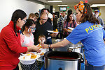 Participants enjoy lunch during the La Posada Celebration at Western Nevada College, in Carson City, Nev., on Saturday, Dec. 15, 2018. <br /> Photo by Cathleen Allison/Nevada Momentum
