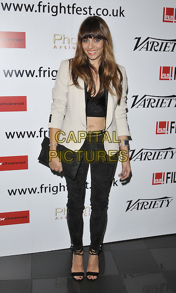 LONDON, ENGLAND - AUGUST 22: Ashley C Williams attends the &quot;Julia&quot; UK film premiere, Film4 FrightFest day 2, Vue West End cinema, Leicester Square, on Friday August 22, 2014 in London, England, UK. <br /> CAP/CAN<br /> &copy;Can Nguyen/Capital Pictures