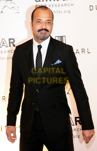 JEFFREY WRIGHT.Hotel Atlantis, The Palm.The 2nd Annual amfAR Cinema Against AIDS, Dubai during the 5th Annual Dubai International Film Festival,.United Arab Emirates December 13th, 2008.half length black suit jacket goatee facial hair.CAP/RD.©Richard Dean/Capital Pictures