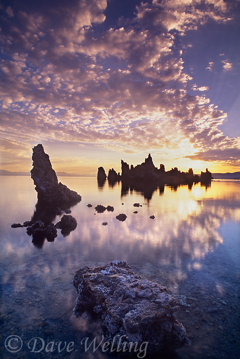 761950117 sunrise light brightens the clouds and the tufa formations at south tufas in mono lake state preserve in mono county california
