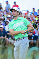 Jamie Lovemark (USA) watches his tee shot on 1 during Saturday's round 3 of the 117th U.S. Open, at Erin Hills, Erin, Wisconsin. 6/17/2017.<br /> Picture: Golffile | Ken Murray<br /> <br /> <br /> All photo usage must carry mandatory copyright credit (&copy; Golffile | Ken Murray)
