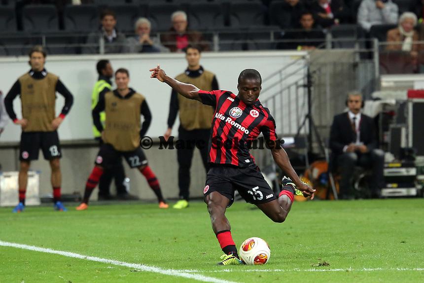 Freistoss von Constant Djakpa (Eintracht) - 1. Spieltag der UEFA Europa League Eintracht Frankfurt vs. Girondins Bordeaux