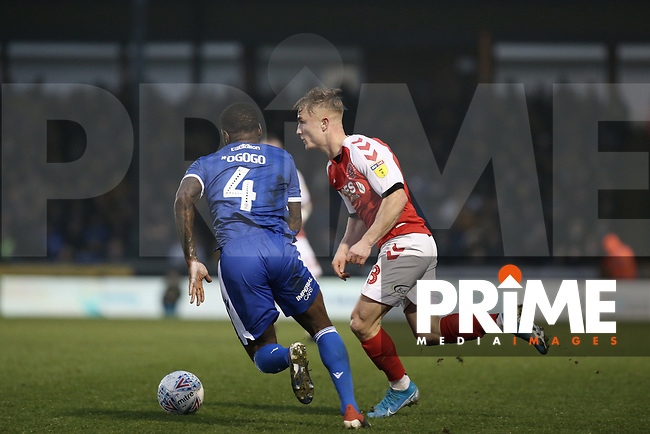 Kyle Dempsey of Fleetwood Town during the Sky Bet League 1 match between Bristol Rovers and Fleetwood Town at the Memorial Stadium, Bristol, England on 25 January 2020. Photo by Dave Peters / PRiME Media Images.