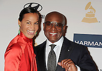 BEVERLY HILLS, CA - FEBRUARY 09: Antonio 'L.A.' Reid and Erica Reid arrive at the The 55th Annual GRAMMY Awards - Pre-GRAMMY Gala And Salute To Industry Icons Honoring L.A. Reid at the Beverly Hilton Hotel on February 9, 2013 in Beverly Hills, California.PAP0213JP405.PAP0213JP405. Nortephoto