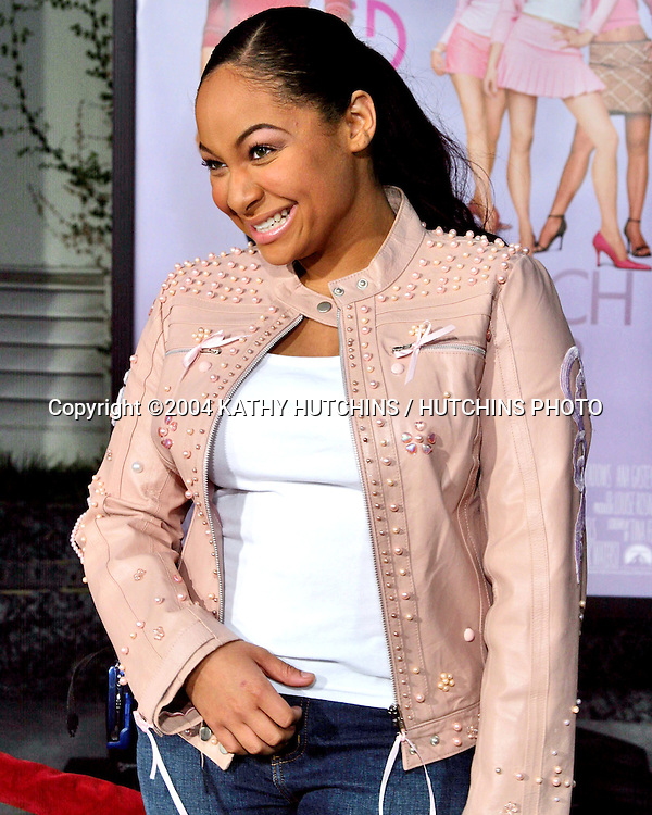 "©2004 KATHY HUTCHINS / HUTCHINS PHOTO.""MEAN GIRLS"" PREMIERE.ARC LIGHT THEATERS.LOS ANGELES, CA.APRIL 19, 2004..RAVEN SYMONE"